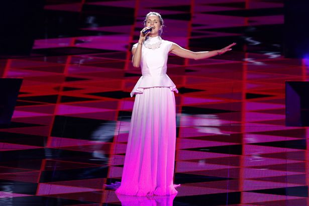 Gabriela-Guncikova-of-Czech-Republic-during-The-Grand-Final-of-Eurovision